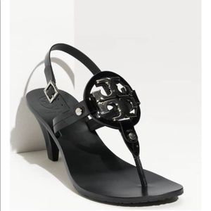 Tory Burch Holly Black Heels sandals
